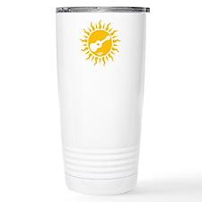 uke are my sunshine Travel Coffee Mug