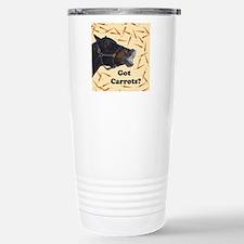Cute Got Carrots? Horse Travel Mug
