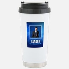 Leader: This is What On Stainless Steel Travel Mug