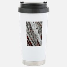 Asbestos fibres, SEM Stainless Steel Travel Mug
