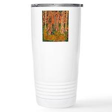 Orange Tangerine Trees Travel Mug