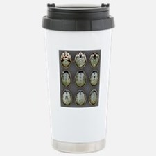 Normal brain, MRI scans Travel Mug
