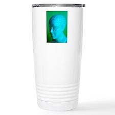 Phrenology model Travel Mug