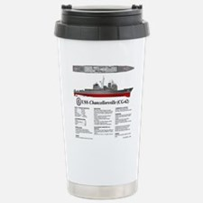 USS Chancellorsville CG Travel Mug