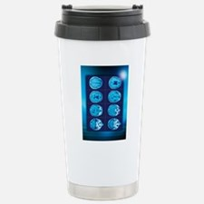 Normal brain, CT scans Stainless Steel Travel Mug