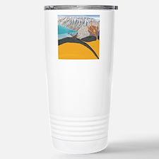 Subduction zone process Travel Mug