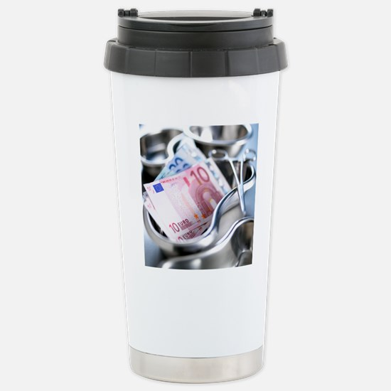 Medical costs Stainless Steel Travel Mug