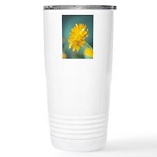 Marigold flower Travel Coffee Mug