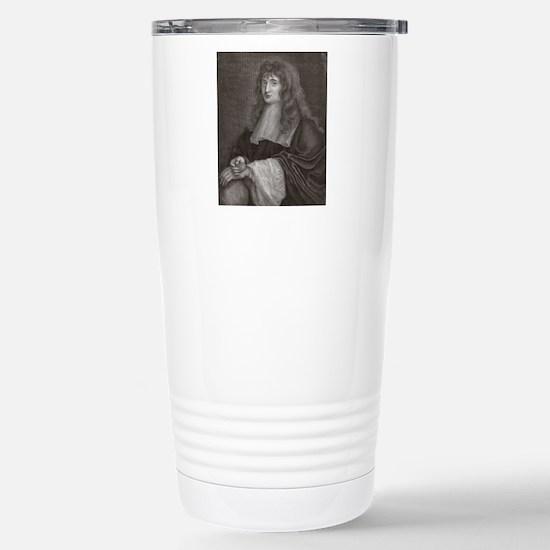 Sir Isaac Newton Stainless Steel Travel Mug