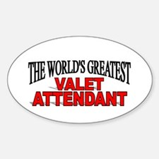 """""""The World's Greatest Valet Attendant"""" Decal"""