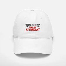 """""""The World's Greatest Valet Attendant"""" Baseball Baseball Cap"""