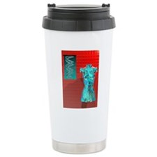 Human genome, conceptua Travel Mug