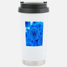 Herpes virus particles, Travel Mug