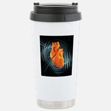 Heartbeat, conceptual a Travel Mug