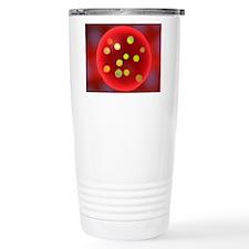 Plum pudding model of t Travel Mug