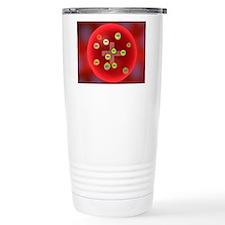 Plum pudding model of t Travel Coffee Mug