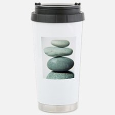 Stacked pebbles Stainless Steel Travel Mug