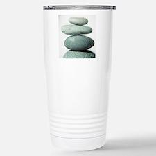 Stacked pebbles Travel Mug