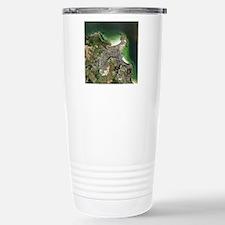 St Ives, Cornwall, UK,  Travel Mug