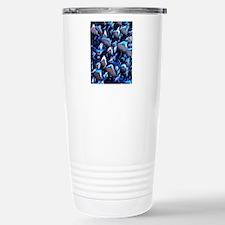 Solar cell, micrograph Travel Mug