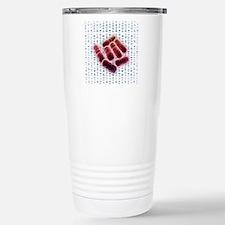 E coli bacteria, artwor Stainless Steel Travel Mug