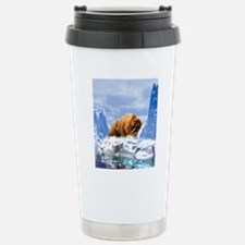 Sabre-toothed cat Stainless Steel Travel Mug