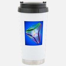 DNA cube, conceptual ar Stainless Steel Travel Mug