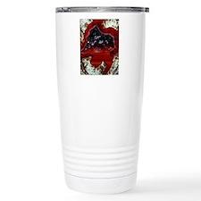 Rhyolitic geode Travel Coffee Mug