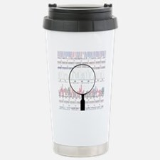 DNA analysis Stainless Steel Travel Mug