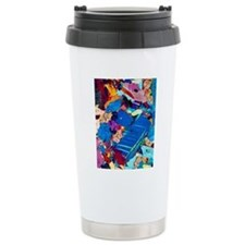 Polarised LM of a thin  Travel Coffee Mug