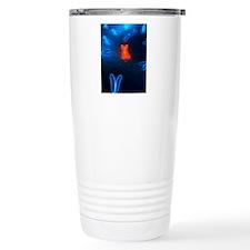 Chromosomes, artwork Travel Mug