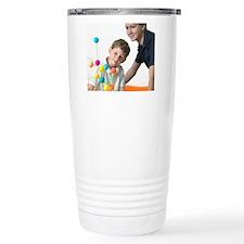 Chemistry lesson Travel Coffee Mug