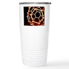 Buckminsterfullerene mo Travel Coffee Mug