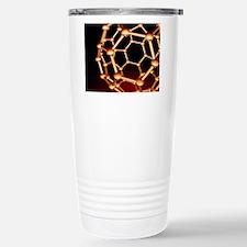 Buckminsterfullerene mo Travel Mug