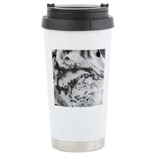 Open cell clouds over t Travel Coffee Mug