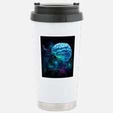 Brain research, concept Stainless Steel Travel Mug