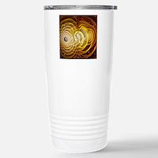 Black holes merging Travel Mug