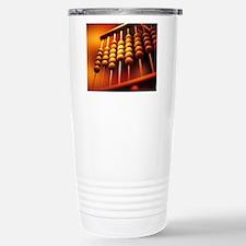 Abacus Stainless Steel Travel Mug