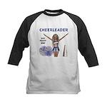Cheerleader #1 Kids Baseball Jersey