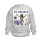 Cheerleader #1 Kids Sweatshirt
