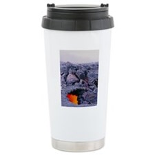 Lava tube, Kilauea volc Travel Mug