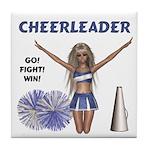 Cheerleader #1 Tile Coaster