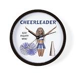 Cheerleader #1 Wall Clock