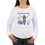 Cheerleader #1 Women's Long Sleeve T-Shirt
