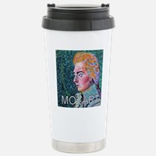 WHIRLING MOZART Stainless Steel Travel Mug