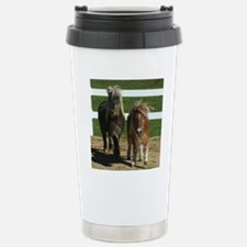 Cute Miniature Horses Stainless Steel Travel Mug