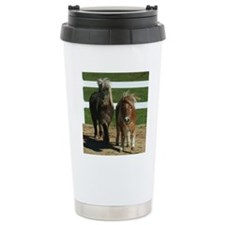 Cute Miniature Horses Travel Mug