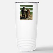 Cute Miniature Horses Travel Mug