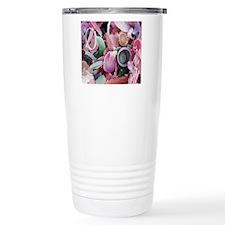Fossilised diatoms, SEM Travel Mug