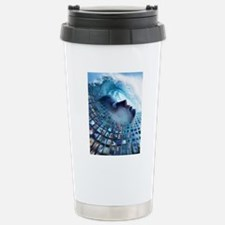 Information overload, c Stainless Steel Travel Mug